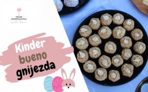 Tražite jednostavan recept za Uskrs za koji će se svi boriti? Možda su Kinder bueno gnijezda pravi izbor za vas!
