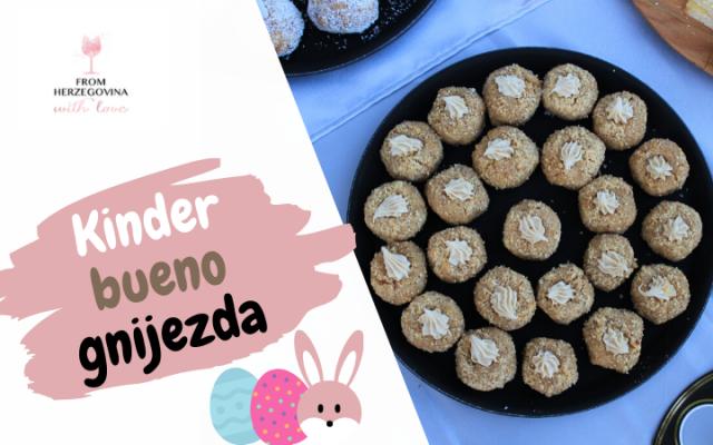 linolada, kinder-bueno-gnijezda